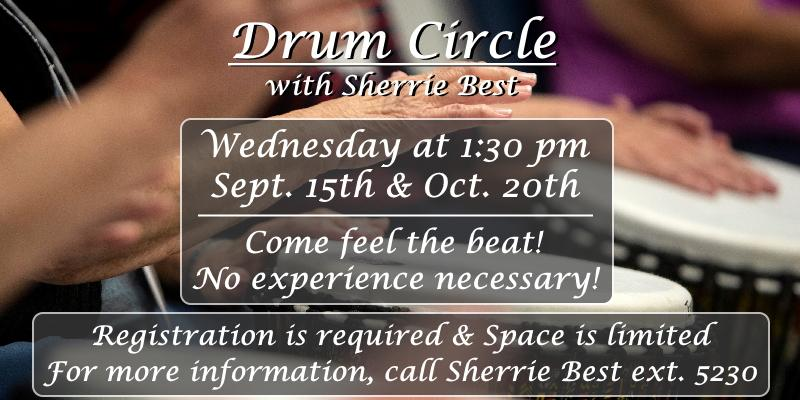 Drum Circle with Sherrie Best