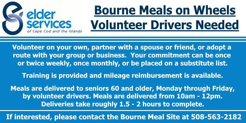 Meals on Wheels Voluteers Needed